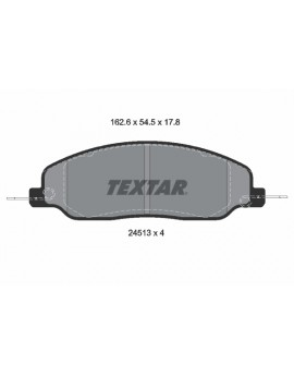 FRONT Brake Pads for Ford...