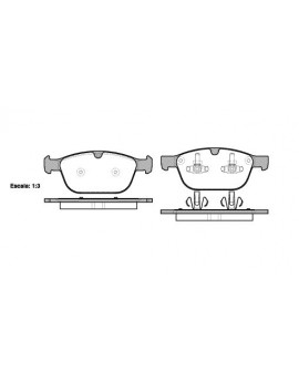 FRONT Brake Pads for Volvo...