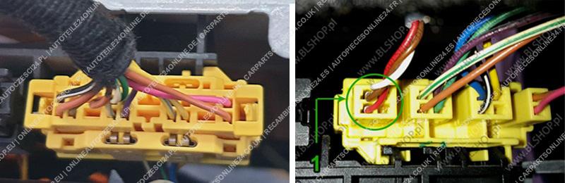 Emulatore del Sensore di Presenza del Sedile Mercedes Viano W639 2003-2014